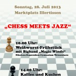 Flyer Chess Meets Jazz