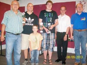 Siegerbild Turnier der Generationen 2013