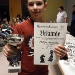 Philip Herrscher - Sieger U14