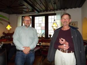 Bernd Borowsky und Fritz Gatzke (re)