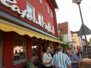 Cafe am Markt-Siegerehrung