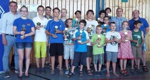 Siegerfoto Jugendturnier 2015