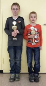 Max & Felix bei der 3. Ulmer Stadtmeisterschaft der Jugend