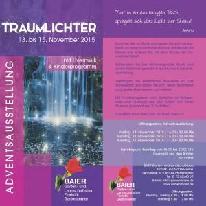Advents-Ausstellung Gärtnerei Baier