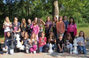 Die Teilnehmerinnen des Ludwigsburger Mädchen-Grand-Prix