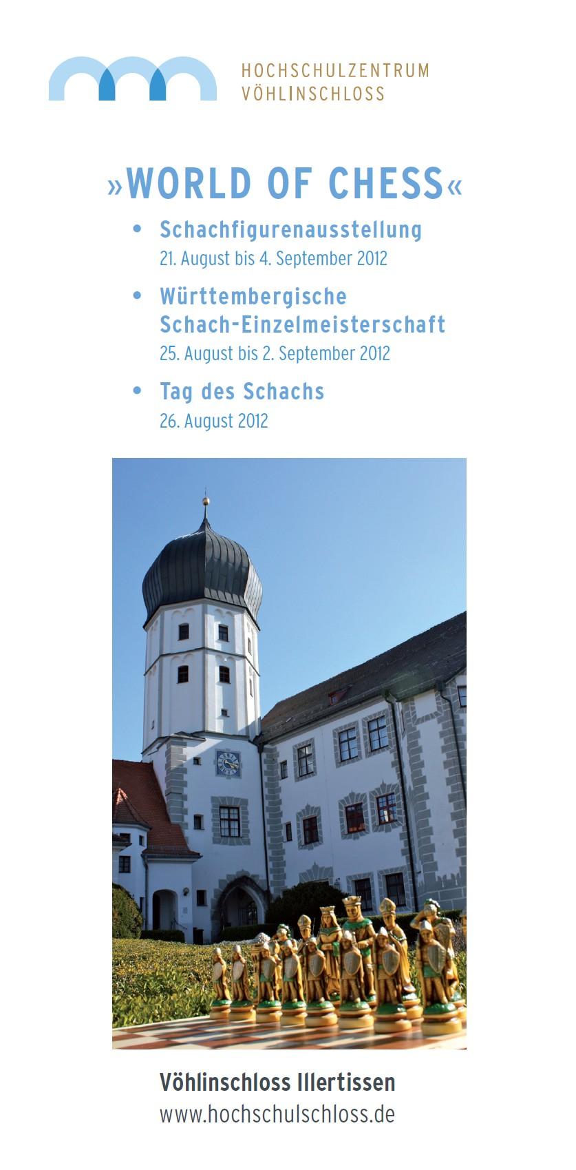Flyer zur WEM 2012 - Vorderseite