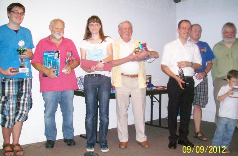 Turnier der Generationen: Sieger 2012