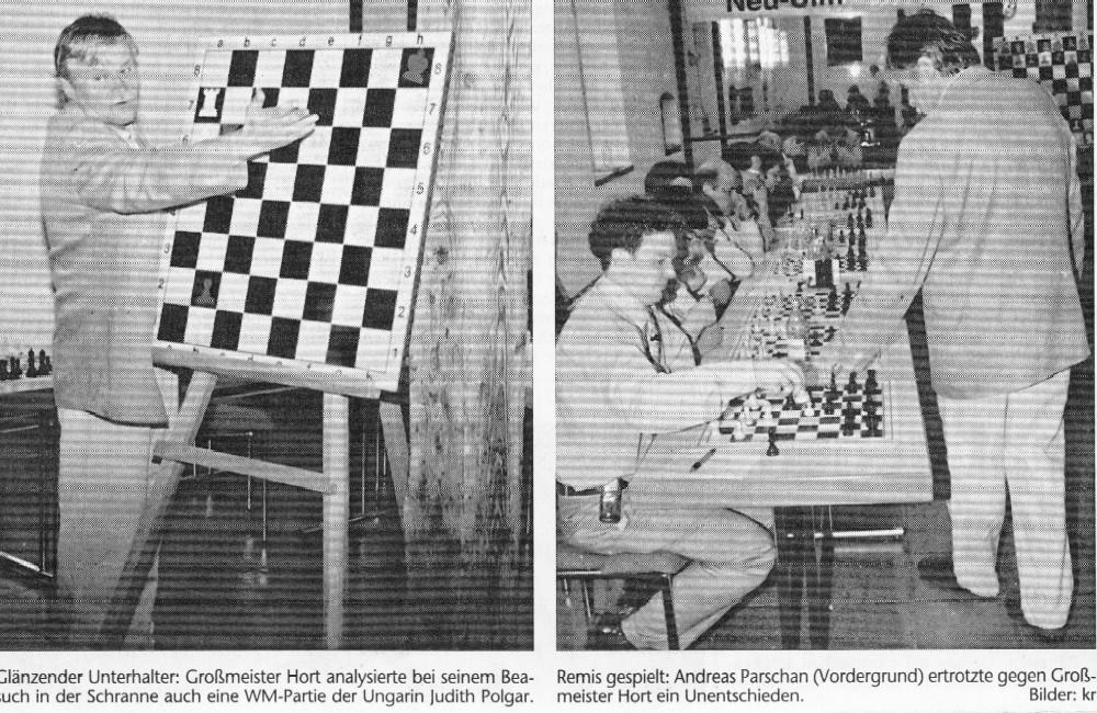 Vlastimil Hort - Simultan 1999 in Illertissen