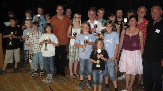 Siegerbild Jugendturnier 2009