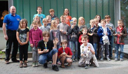 Teilnehmer Beginnerturner 2011