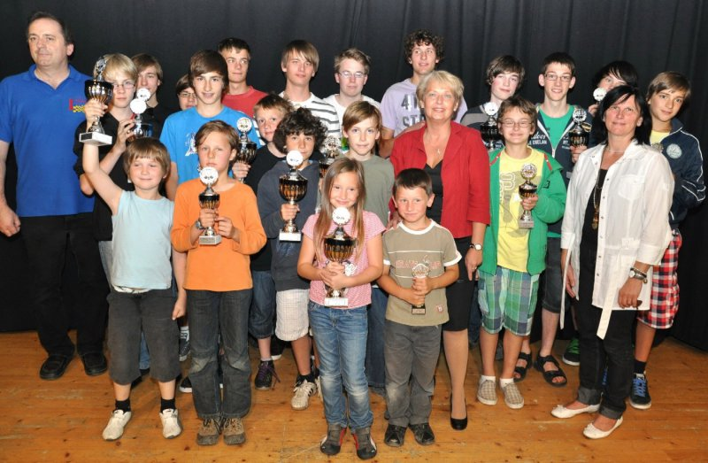 Siegerbild Jugendturnier 2011