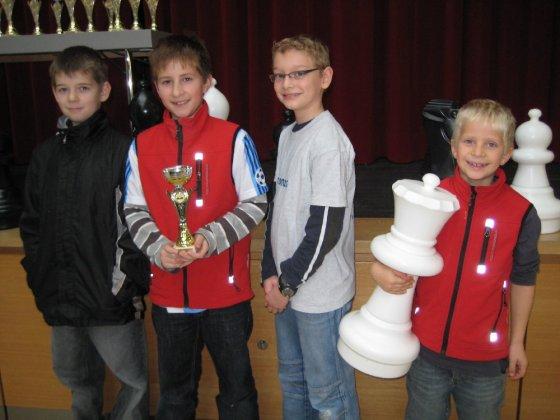 Mannschaft der Bischof-Ulrich-Grundschule 2009