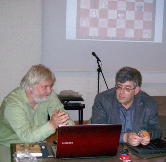 Mark Dworetsky und Artur Jussupow