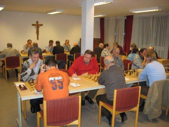 Gut besuchter Spielabend: Schachclub Frickenhausen zu Gast