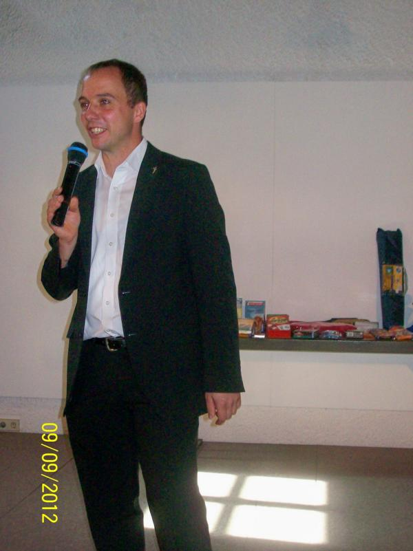 Schirmherr Martin Gall